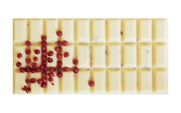 Rosa Pfeffer Schokolade