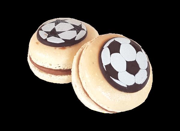 Fussball-Macarons