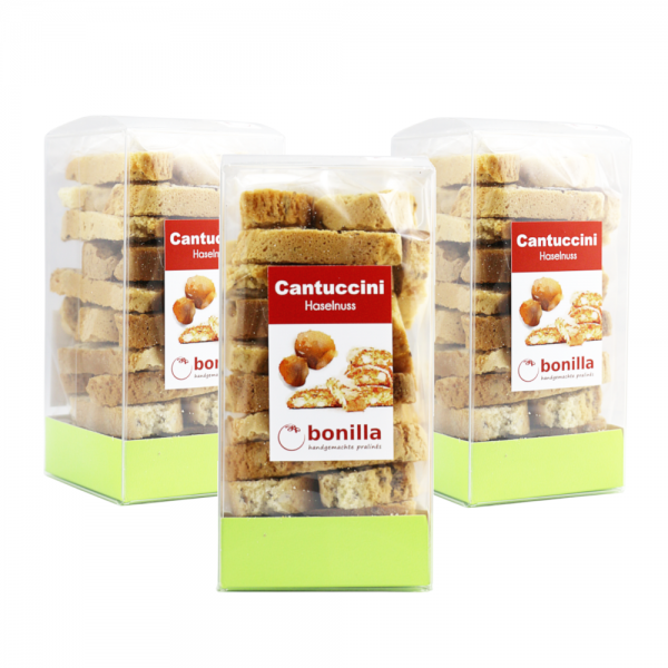 Haselnuss-Cantuccini 3er-Set