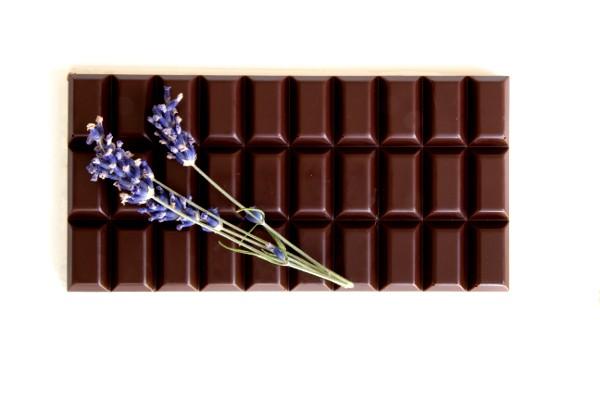 Lavendel Schokolade Zartbitter