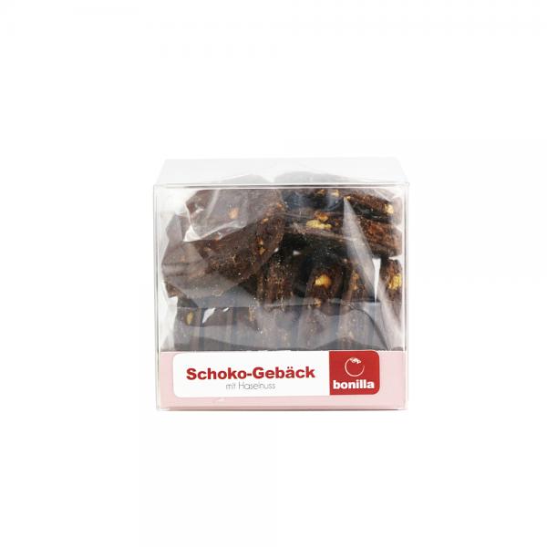 Schoko-Gebäck mit Haselnuss