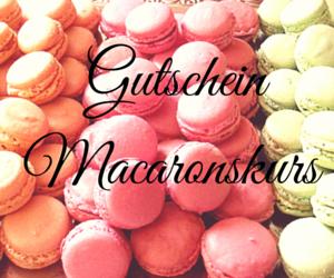 Macaronskurs Gutschein