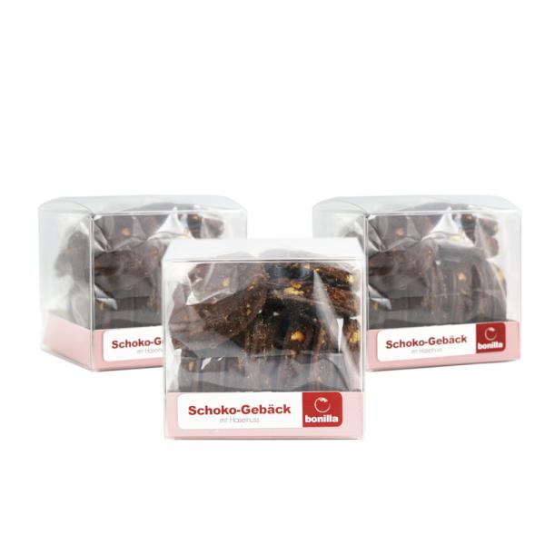 Schoko-Haselnuss-Gebäck 3er-Set
