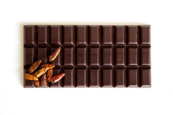 Chili Schokolade Zartbitter