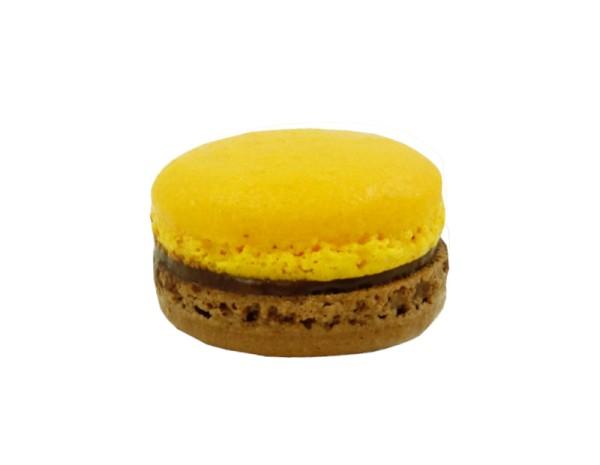 Schokolade-Orange-Macarons